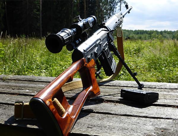 Захищено: Пристрілка та ведення вогню із СВД | Код 50091